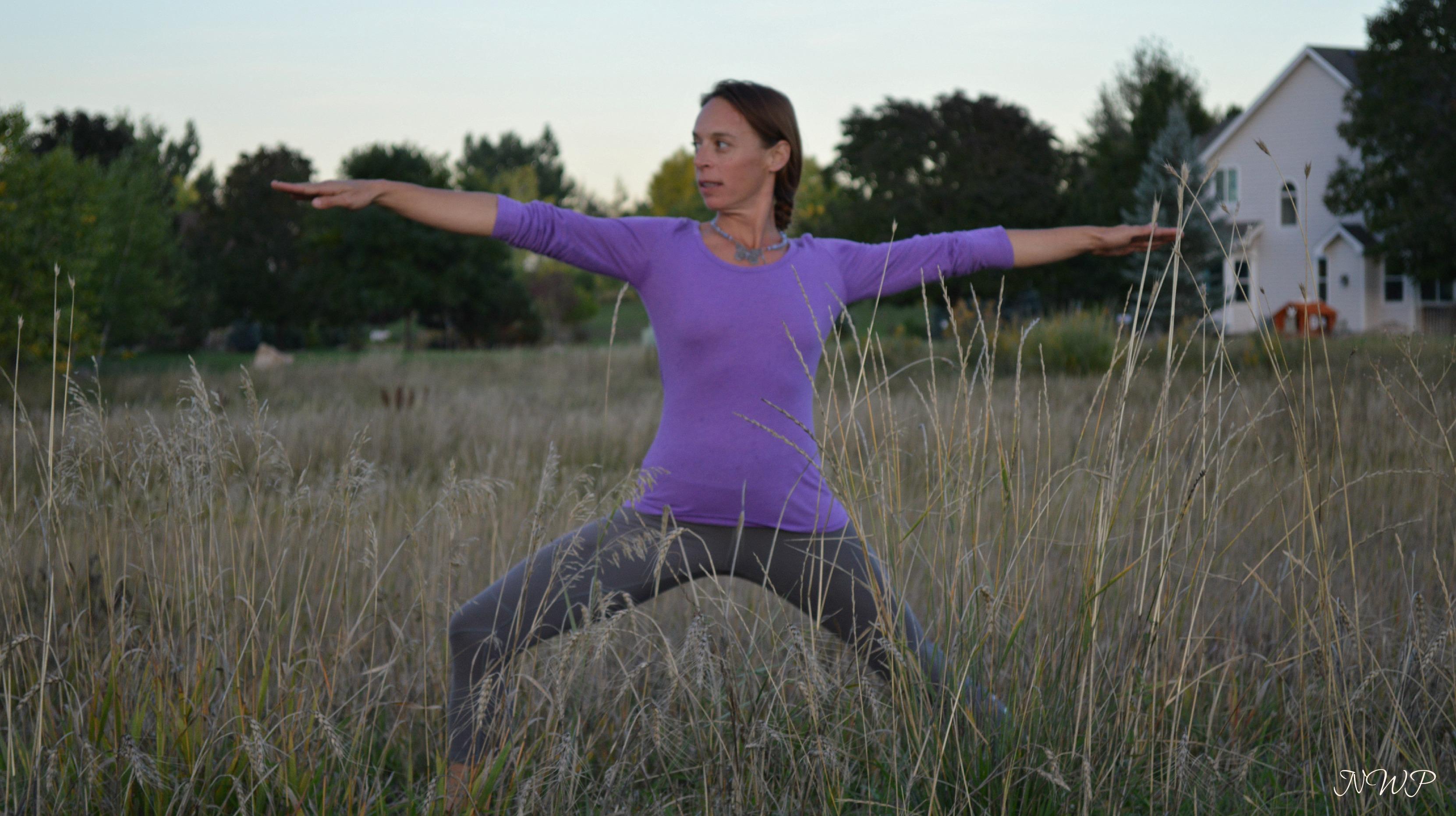Yoga Nature Photo Shoot – N. Wind Photography