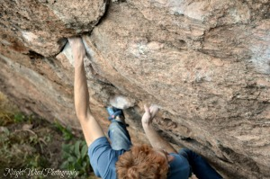 Aaron Climbing