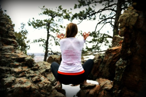 Kate Yogic squat